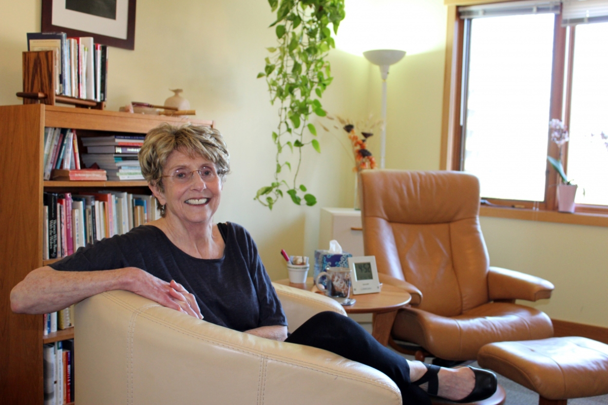 Ann in Office Seated 2016-05